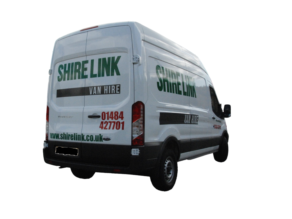 LWB Transit Hire rear three quarter