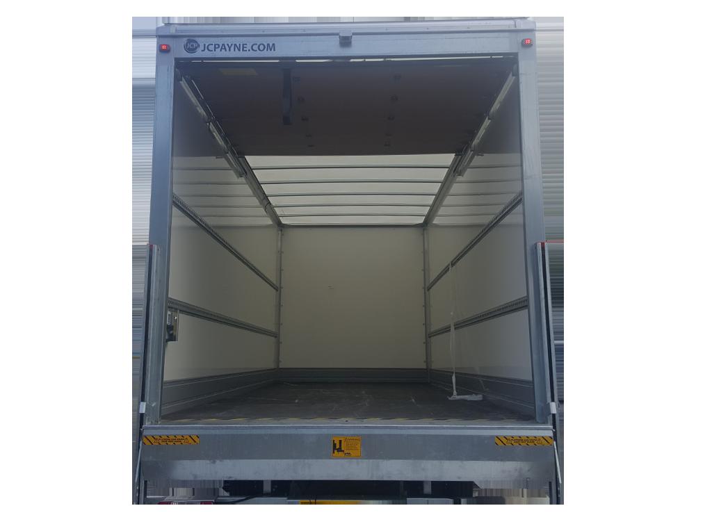 new 7-5 ton rear open
