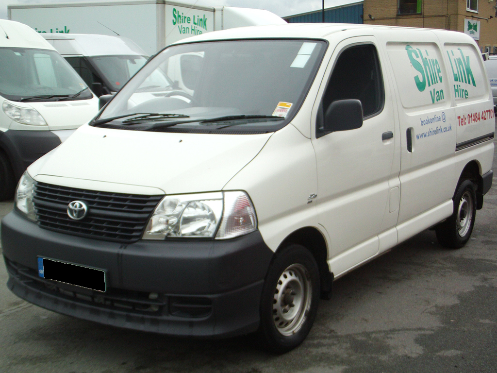 Lastest TOYOTA HiAce GL Passenger Vans For Sale From The Netherlands Buy Passenger V